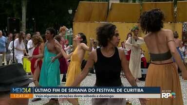 Festival de Teatro de Curitiba termina neste fim de semana - Confira as principais atrações.