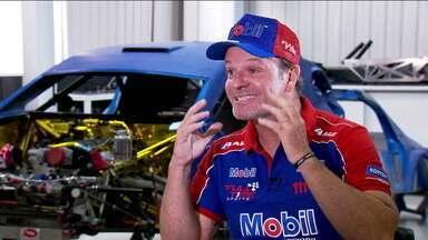 Nos 40 anos da Stock Car, Rubinho Barrichello comemora boa fase e volta da felicidade de competir - Nos 40 anos da Stock Car, Rubinho Barrichello comemora boa fase e volta da felicidade de competir