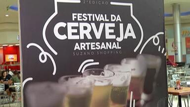 Suzano tem Festival da Cerveja Artesanal neste final de semana - Evento acontece no shopping da cidade.