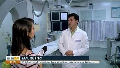 Médico cardiologista do ES explica se é possível prevenir o infarto - Ministério da Saúde aponta que cerca de 212 mil pessoas morrem por ano no Brasil por causa da doença. Sedentarismo e o tabagismo aumentam os riscos.