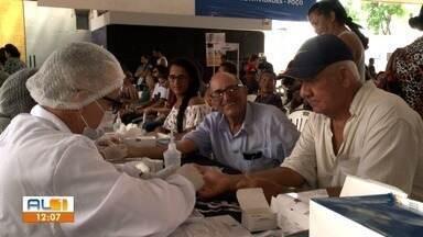 TV Gazeta realiza primeira edição do Projeto Saúde em Dia - Ação aconteceu no Sesc Poço.