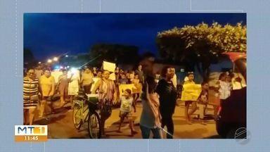 Moradores de Nossa Senhora do Livramento vão às ruas protestar contra falta de segurança - Moradores de Nossa Senhora do Livramento vão às ruas protestar contra falta de segurança.