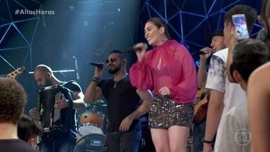 Naiara Azevedo canta '50 Reais' - Ela levanta a plateia com seu hit