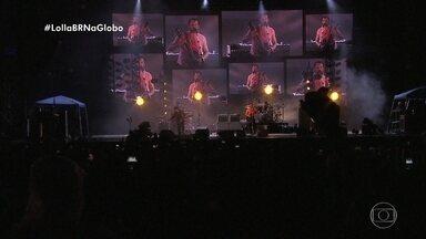 Kings of Leon canta seus sucessos no placo do Lollapalooza - Assista!