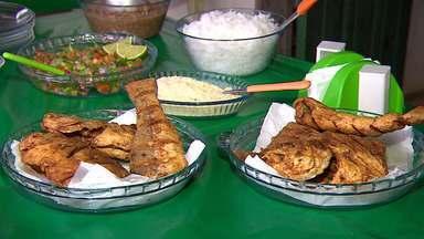 Aprenda uma deliciosa receita de peixe frito - Veja como preparar.