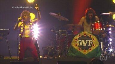 Greta Van Fleet traz seus sucessos ao palco do Lollapalooza - Banda é elogiada por grandes nomes do rock e já venceu um Grammy