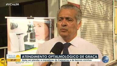 Ação oferece exames oftalmológicos de graça em Cajazeiras e bairros vizinhos - Mutirão vai encaminhar pacientes para realizar cirurgias.