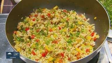 'Prato Feito': Saiba os segredos para fazer um bom arroz integral - Fernando Kassab mostra que é possível surpreender fazendo arroz integral.