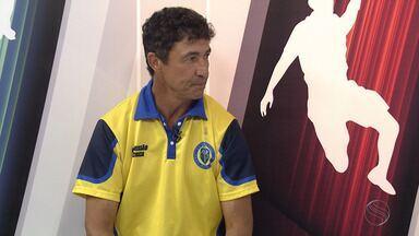 Betinho comenta feito de levar Frei Paulistano pela primeira vez a uma final - Time aguarda adversário da final do Campeonato Sergipano.