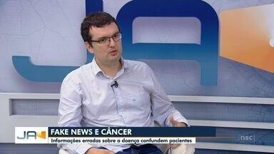 Informações erradas sobre o câncer confundem pacientes - Informações erradas sobre o câncer confundem pacientes