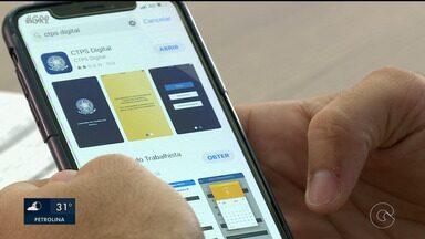 Carteira de Trabalho está disponível em formato digital - O aplicativo tem facilitado a vida de muitos trabalhadores.