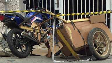 Coletor de material reciclável de 59 anos morre atropelado por moto em Taubaté - Acidente foi no Jardim Ana Rosa.