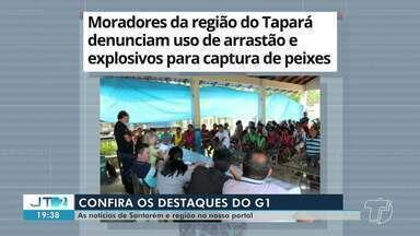 Uso de arrastão e explosivos durante pesca é destaque no G1 Santarém e Região - Veja essa e outras notícias pelo celular, tablet e computador.