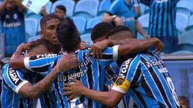 Grêmio e Inter se classificam para a fina do Gauchão, mas antes tem Libertadores - Inter joga nesta terça-feira (9) contra o Palestino e Grêmio enfrenta o Rosário Central nesta quarta-feira (10).