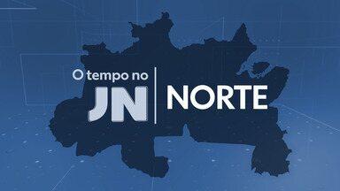 Veja como fica o tempo na região Norte nesta terça-feira (9) - Maria Júlia Coutinho dá os detalhes para as principais cidades da região.