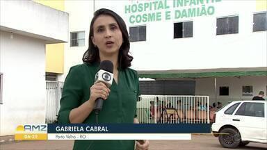 Seis crianças seguem internadas com suspeita da gripe H1N1 - Onze casos foram confirmados no estado só neste ano e duas mortes já foram confirmadas pela doença