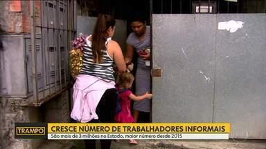 Trampo: Cresce o número de trabalhadores informais em São Paulo - Série de reportagens mostra desafios para conseguir um trabalho.