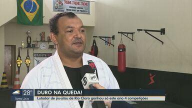 Lutador de jiu-jitsu de Rio Claro coleciona quatro vitórias desse ano - Edson de Paula Júnior conquistou três medalhas na última competição no Rio de Janeiro.