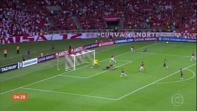 Internacional está nas oitavas de final da Libertadores - Internacional está nas oitavas de final da Libertadores.