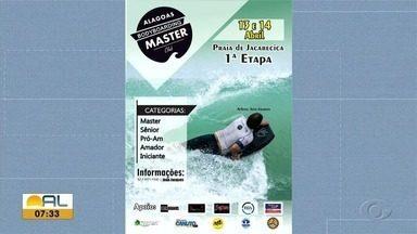 Primeira etapa do Alagoano de Bodyboard é realizada na Praia de Jacarecica - As disputas serão nas categorias master, sênior, prómam, amador e iniciante.