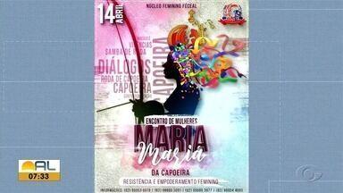 Encontro Maria Mariá de capoeira aconte em Maceió - Evento acontece no dia 14 e reunirá cerca de 150 capoeiristas alagoanas e representantes da Bahia.