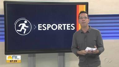 União Desportiva/CSA vence jogo em Sergipe - Equipe alagoana aplica goleada de 4x1.