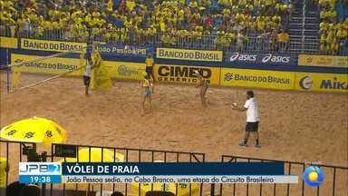 João Pessoa sedia uma etapa do Circuito Brasileiro de Vôlei de Praia - No Cabo Branco.