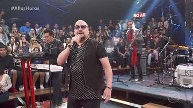 Roupa Nova abre programa e Serginho apresenta convidados - Banda empolga plateia e convidados