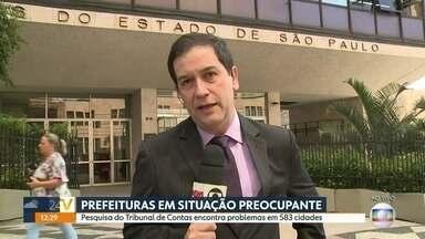 Relatório do TCE revela que contas desandaram na maioria das cidades - Os municípios não estão conseguindo cumprir a Lei de Responsabilidade Fiscal.