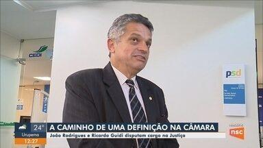 Após decisão do STF, João Rodrigues e Ricardo Guidi disputam cargo na Justiça - Após decisão do STF, João Rodrigues e Ricardo Guidi disputam cargo na Justiça