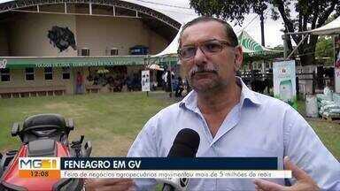 Feneagro foi realizada e movimentou mais de 5 milhões em Governador Valadares - Feira de negócios agropecuários mostrou maquinário de última geração para os produtores rurais.