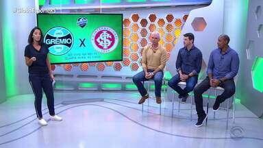 Comentaristas projetam o Gre-Nal da quarta-feira (17) - Partida será disputada na Arena e terá transmissão da RBS TV.