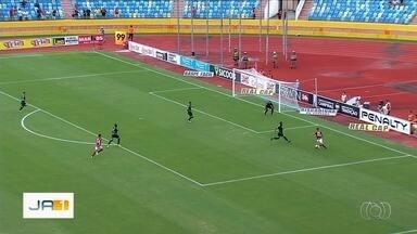 Atlético-GO vence o Goiás por 3 a 0 e sai na frente na final do Goianão - Dragão fica com o título até se perder por dois gols de diferença.