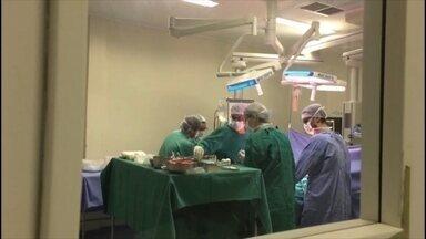 Acontece a primeira doação de órgãos do ano no Hospital Santa Terezinha de Erechim - A captação foi feita pela Central de Transplantes de Porto Alegre.