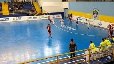 Atlântico vence o São José pela Liga Nacional de Futsal - São José 3 X 5 Atlântico.