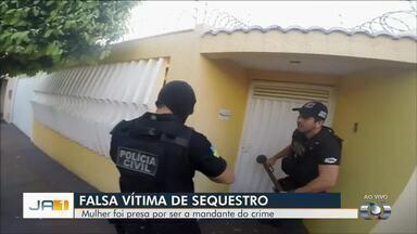 Polícia suspeita que motorista forjou o próprio sequestro para tentar receber R$ 100 mil - Caso aconteceu em Rio Verde.