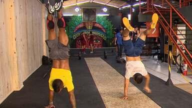 Sergipanos se preparam para disputa de campeonato de Crossfit - Sergipanos se preparam para disputa de campeonato de Crossfit.