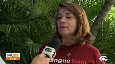Hemocentros fazem campanha por doação de sangue para a Semana Santa - Doadores vão ganhar camisa como forma de incentivar a doação.