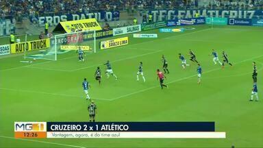 Esporte: Cruzeiro vence o Atlético no primeiro jogo da final do Mineiro - Confira outras notícias do esporte.