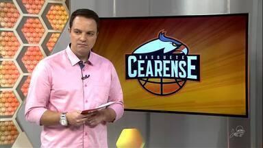 Basquete Cearense perde o primeiro jogo dos playoffs do NBB para o Mogi - Carcará e Mogi fazem jogo equilibrado, mas time paulista se sobressai, ganha de 77 a 69 e abre 1 a 0 na série melhor de 5 do NBB. Confira detalhes com o repórter Juscelino Filho.