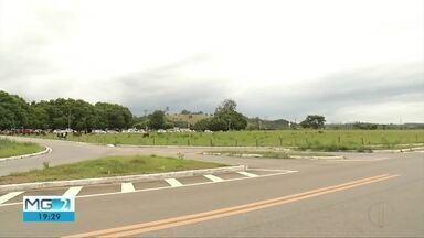 Aeroporto regional do Vale do Aço é liberado para retorno de voos - Local precisou passar por obras de reparo na pista.
