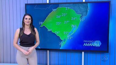 Tempo: nesta terça-feira (16) pode ter pancadas de chuva em regiões do RS - Assista ao vídeo.