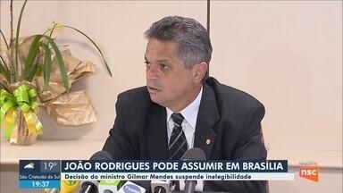 Ministro Gilmar Mendes suspende inelegibilidade do ex-deputado João Rodrigues - Ministro Gilmar Mendes suspende inelegibilidade do ex-deputado João Rodrigues
