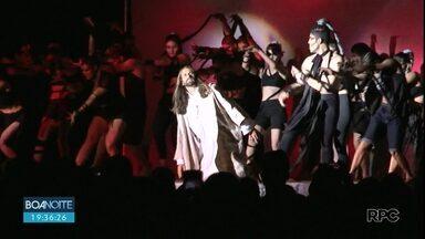 Apresentação da Paixão de Cristo reúne fiéis em Guarapuava - O espetáculo tinha mais de 200 atores no elenco.