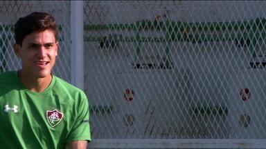 Fluminense enfrenta o Santa Cruz e pode contar com retorno de Pedro - Fluminense enfrenta o Santa Cruz e pode contar com retorno de Pedro