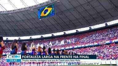 Fortaleza larga na frente do Ceará na disputa pelo título - Tricolor reverteu vantagem que era inicialmente do alvinegro