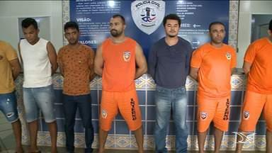 Polícia do Maranhão prende sete pessoas por aplicar golpes em políticos - Ação foi deflagrada em quatro bairros de São Luís e alguns alvos da polícia já estavam presos, mas quatro não foram localizados e continuam foragidos.