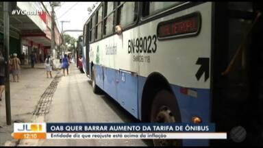 OAB-PA deve recorrer contra aumento do ônibus em Belém - Advogados questionam aumento acima da infração no período.