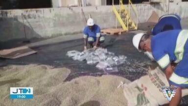 Apreensão de drogas bate recorde no Porto de Santos, SP - Cocaína apreendida tem como destino portos europeus.