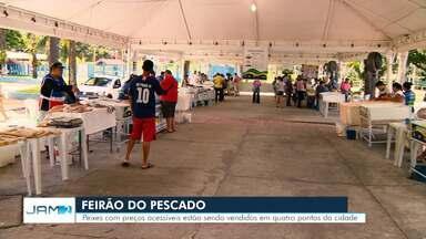 Feirão Semana Santa vai comercializar mais de 100t de pescado regional em Manaus - Evento deve movimentar mais de R$ 1,5 milhão de reais.